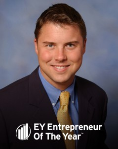 Lyle Donan, winner of the 2014 EY Entrepreneur Of The Year Award for Technology in the South Central Ohio and Kentucky region.