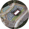 "The individual photos taken by a UAV can be corrected for the angle at which they were taken, then ""stitched"" together to create a single image of a larger area. These orthomosaics can be geo-referenced then overlaid on a base map."