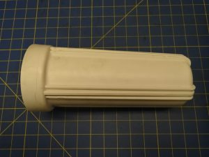 Figure 1: Nominal 10-inch Style Water Filter Canister