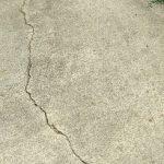 Settlement crack (loss of underlying support).