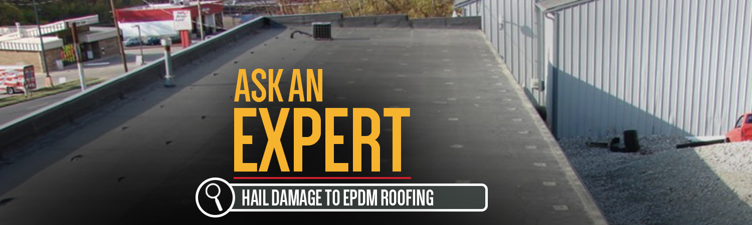 Ask An Expert Hail Damage To Epdm Roofing Donan Forensic Engineering Experts